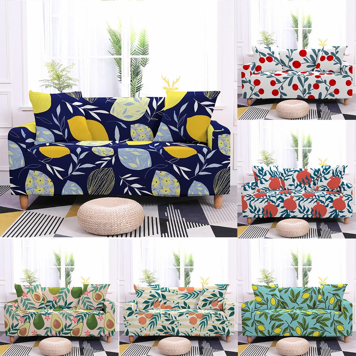 Эластичный чехол на диван для гостиной, моющийся эластичный чехол на Угловое кресло, покрывало на 1/2/3/4-местный диван