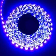 Nouveau 5M UV 395nm 5050 SMD violet 300 LED Flex bande lumière étanche 12V
