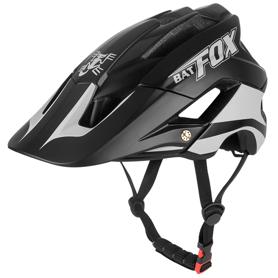 BATFOX-casco de ciclismo ultraligero para hombre y mujer, alta calidad, moldeado general,...