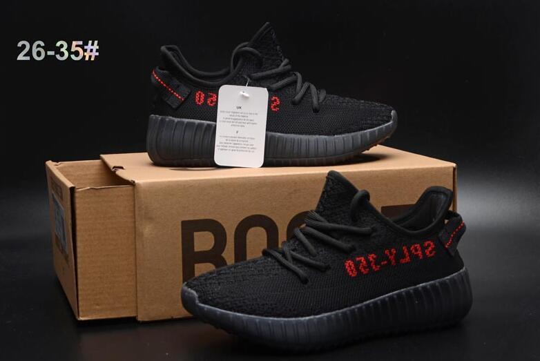 350 boost V2 for Kids Sneakers Shoes yezzy 350 v2 reflective Children girls sand boys outdoor sports