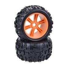 2019 nouvelles roues et pneus de camion monstre Truggy 1/8 pour Redcat Hsp Kyosho Hobao Hongnor équipe Losi GM DHK HPI camion Truggy