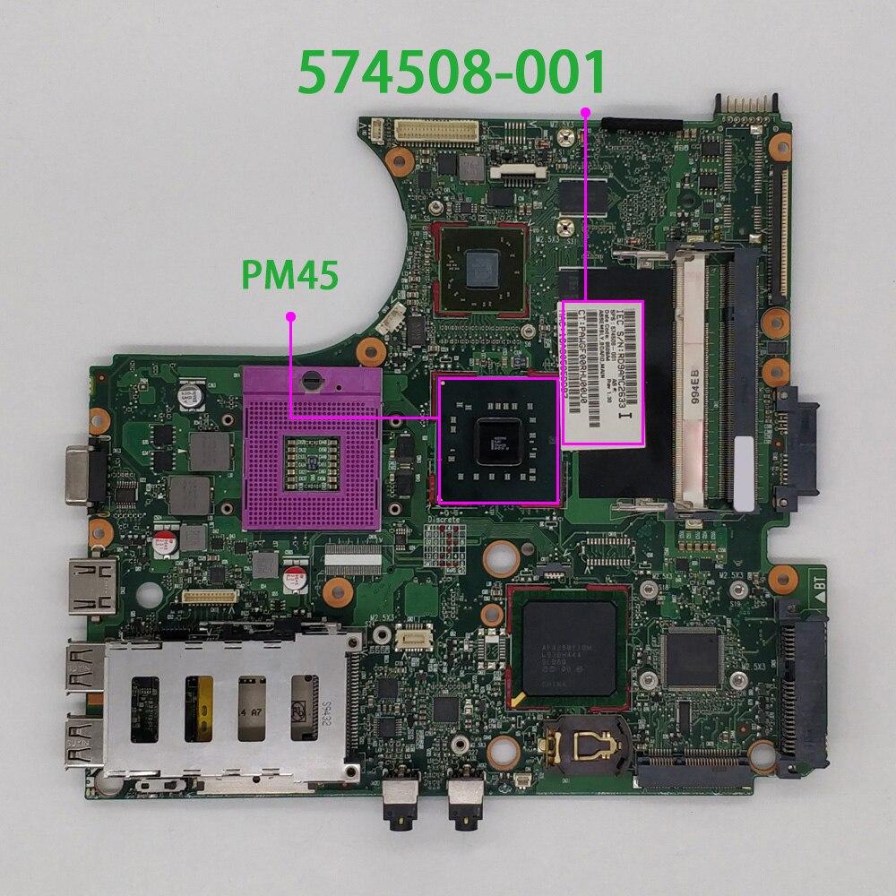 اللوحة الأم للكمبيوتر الدفتري HP ProBook 4410s ، 4411s ، 4510s ، 4710s ، 6050A2252701-MB-A03 ، PM45 ، 574508-001