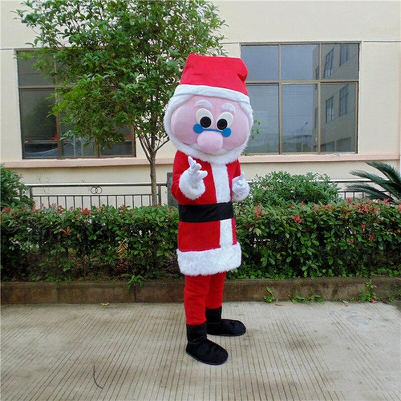 هالوين الكرتون سانتا كلوز تأثيري زي التميمة فستان حفلة الإعلان كرنفال