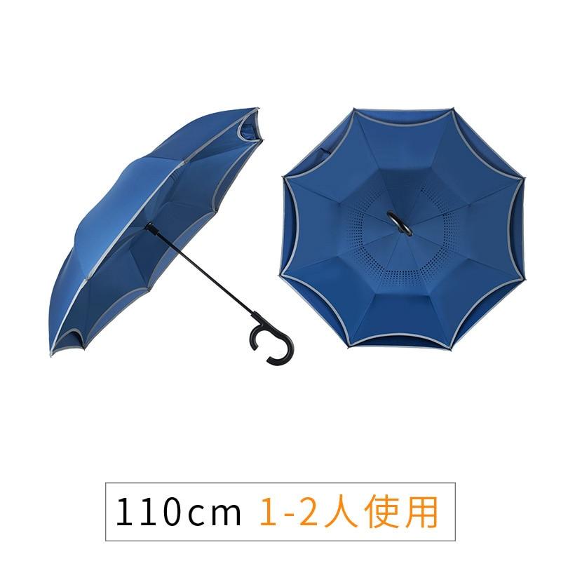 Reflective Outdoor Umbrella Waterproof Travel Automatic Windproof Large Car Umbrella Business Guarda Chuva Rain Gear DG50YS enlarge