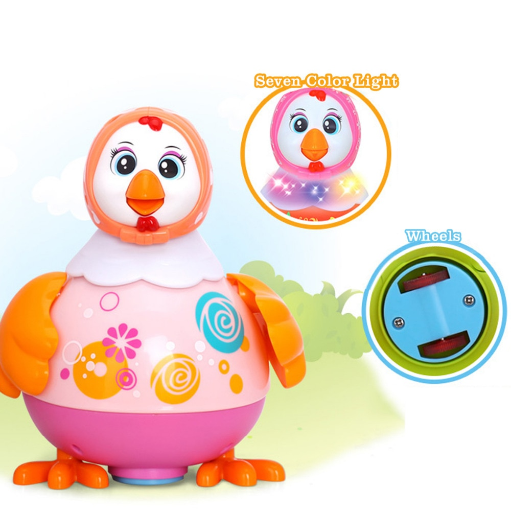 Baby Children Toys Electric Pet Toys Funny Chicken Toys Animal Hens Lay Eggs Singing Dancing Toy For Kids Birthday Gift