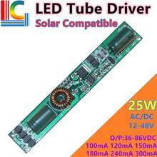 5W 10W 15W 18W 20W LED pilote de Tube AC/DC 12V 24V 36V PWM gradation 80mA 120mA 180mA 240mA 260mA pour T5 T8 Tube CE livraison gratuite