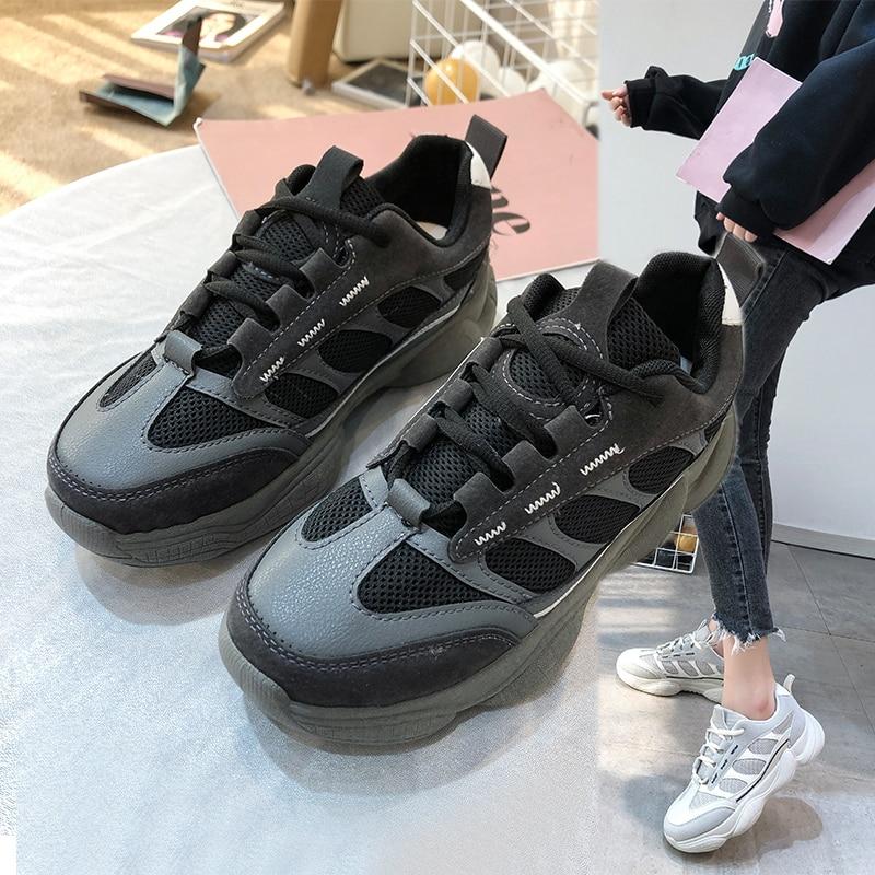 Фото - Папины туфли женские летние спортивные туфли дикие 2020 новые весенние сетчатые туфли супер огненные маленькие белые женские туфли Z718 carlabei туфли carlabei ha833 121 q466