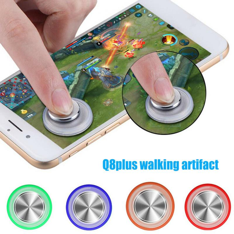 Newest High Quality Q8 Plus Round Game Joystick Game Joystick Controller Gamepad Touch Screen Controller For Mobile Phone Tablet general mobile games joystick touch screen rocker controller