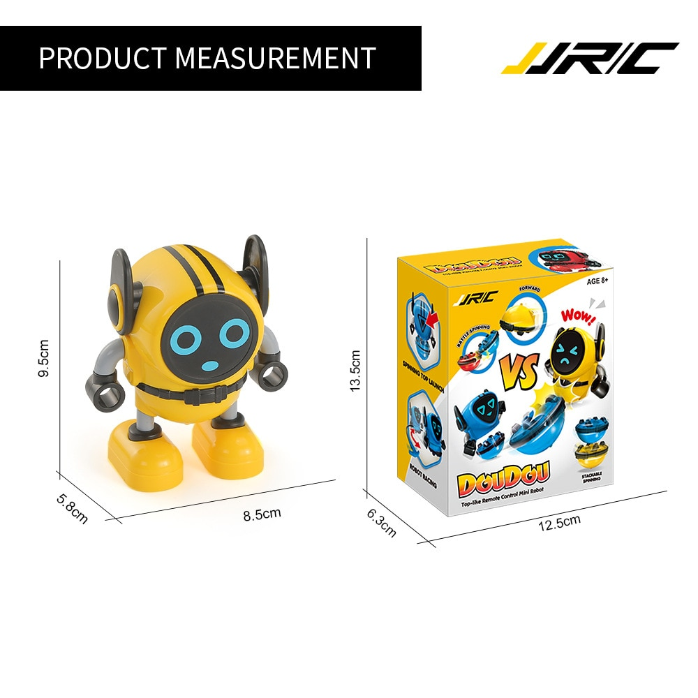 JJRC creative cartoon gyro robot children's tabletop game battle two-in-one parent-child interaction fingertip gyro toy gift enlarge