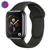 Мужские и женские Bluetooth Смарт-часы серии 6 Смарт-часы для Apple iOS iPhone Xiaomi Android смарт-телефон (красная кнопка)