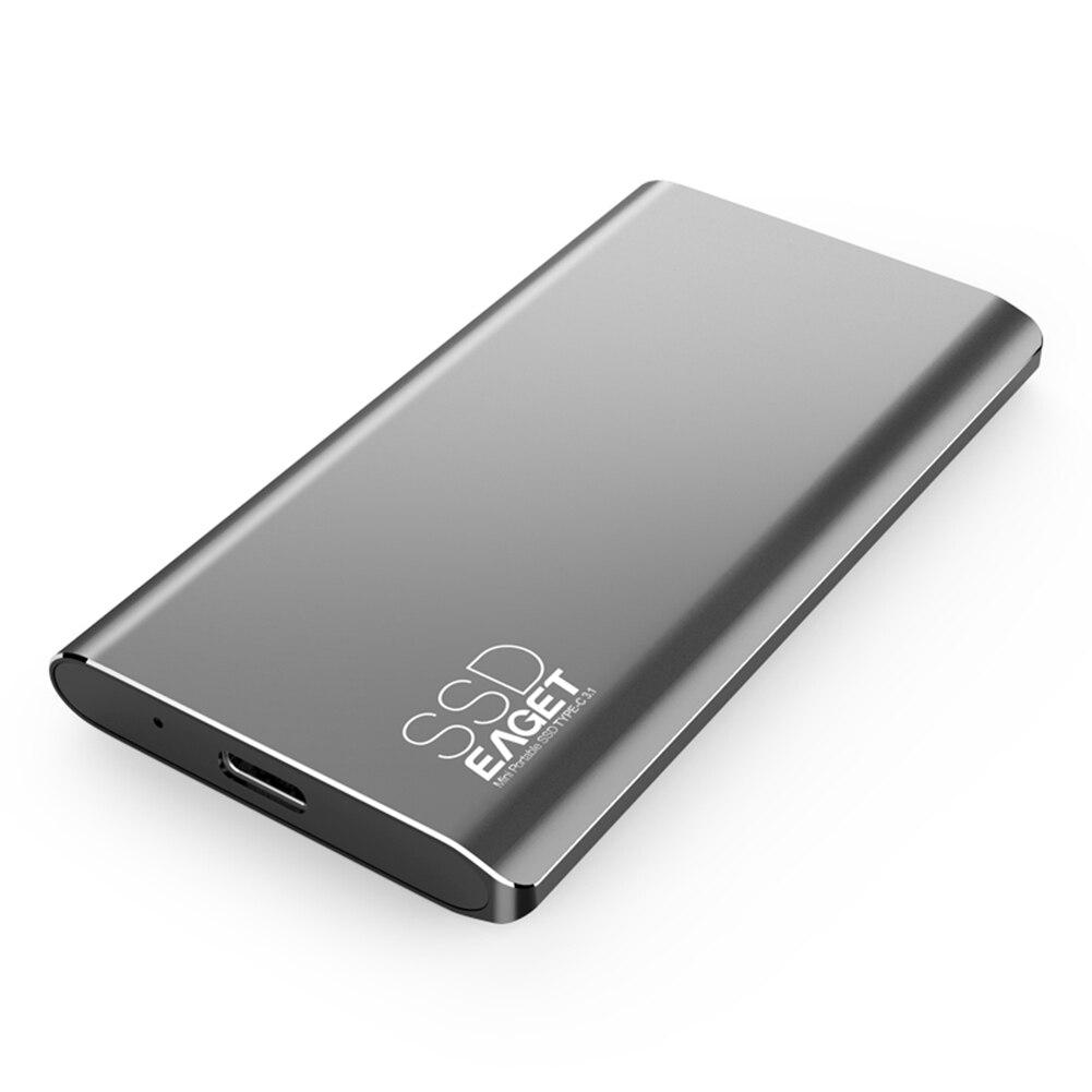إيجيت M1 نوع C خارجي SSD 1 تيرا بايت 512 جيجابايت 256 جيجابايت 128 جيجابايت USB 3.0 محمول وسيط تخزين ذو حالة ثابتة/ القرص الصلب الخارجية الحالة الصلبة محر...