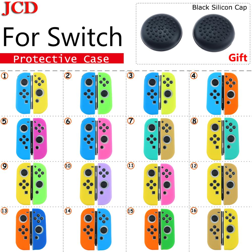 JCD nouveau étui pour Nintend pour commutateur Joycon couverture Solft coque en Silicone pour Nintendo pour poignée de contrôleur de commutateur pour housse Joy-con