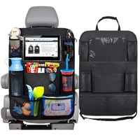 Universal Car Organizer Protector Hanging Storage Bag Organizer Multi-Pocket Car Automobiles Interior Accessory Stowing Tidying