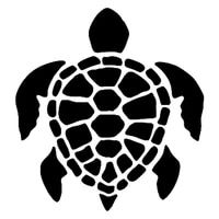 honu sea turtle animal car decals fashion body window decoration pvc waterproof sunscreen sticker can be customized color