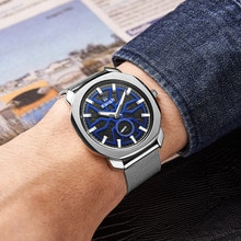 Relogio Masculino Fashion Steel Quartz Watches Men Top Brand Luxury 2021 New Design Dress Clock Man