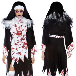Halloween Costume Vampire Halloween Spiritual Love Cosplay Nun Priest Game Uniform Role Play halloween costumes for women