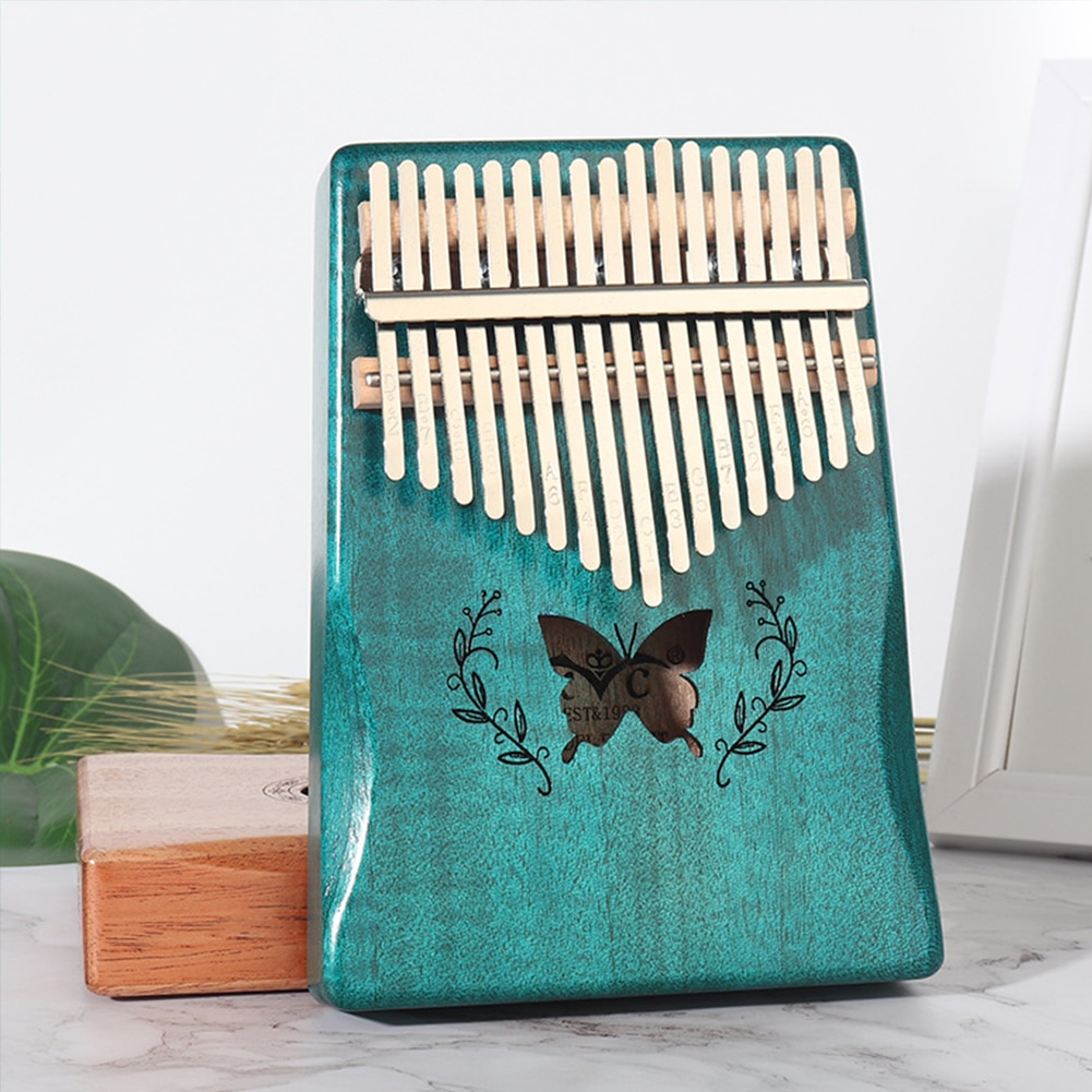 Kalimba 17 Key Portable Thumb Finger Piano Mahogany Musical Instruments Calimba Mbira Gift For Child Adult Beginner Kalimba enlarge