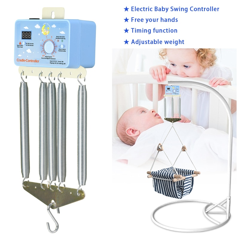 1 Set Electric Baby Swing Controller Baby Bouncer Cradle Driver Timing Function 12W Hanging Basket up and down controller