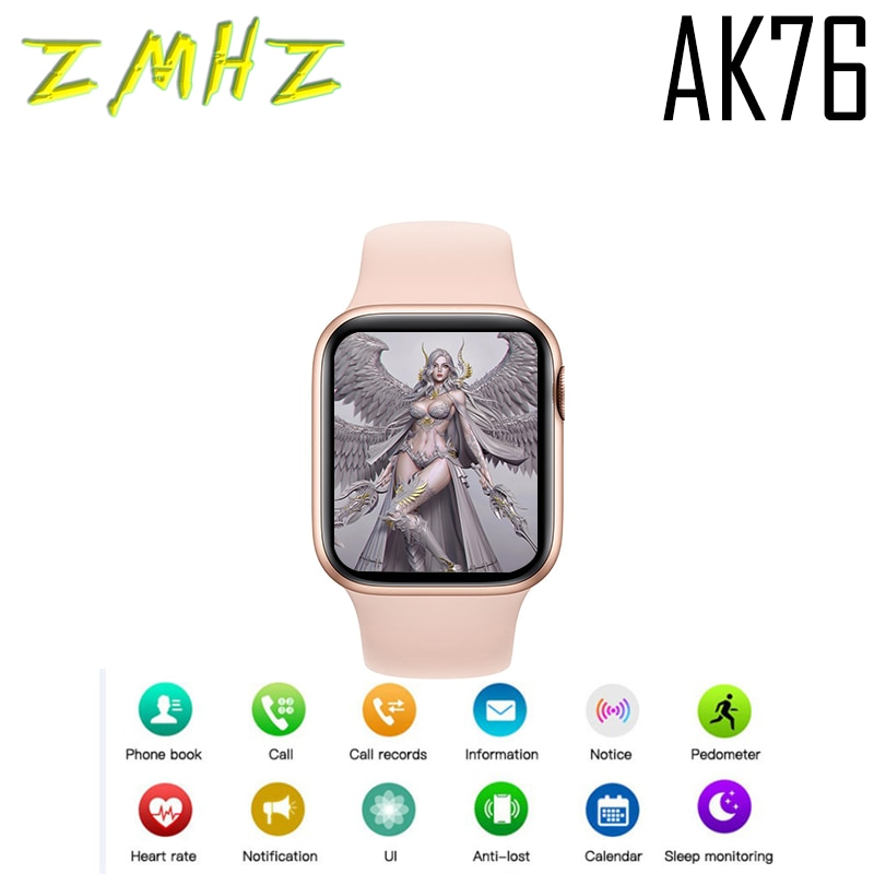 2021 Serie 6 Smart Uhr Für XIAOMI TELEFON Apple AK76 42MM Für HUAWEI OPPO SAMSUNG PK Ticwatch Pro 3 HW22 T800 X16 U88 GT2 FK88