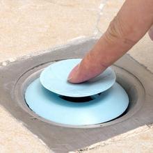 2 IN 1 Professionelle Silikon Ablauf Waschbecken Badewanne Badewanne Protector Boden Stopper Deodorant #734