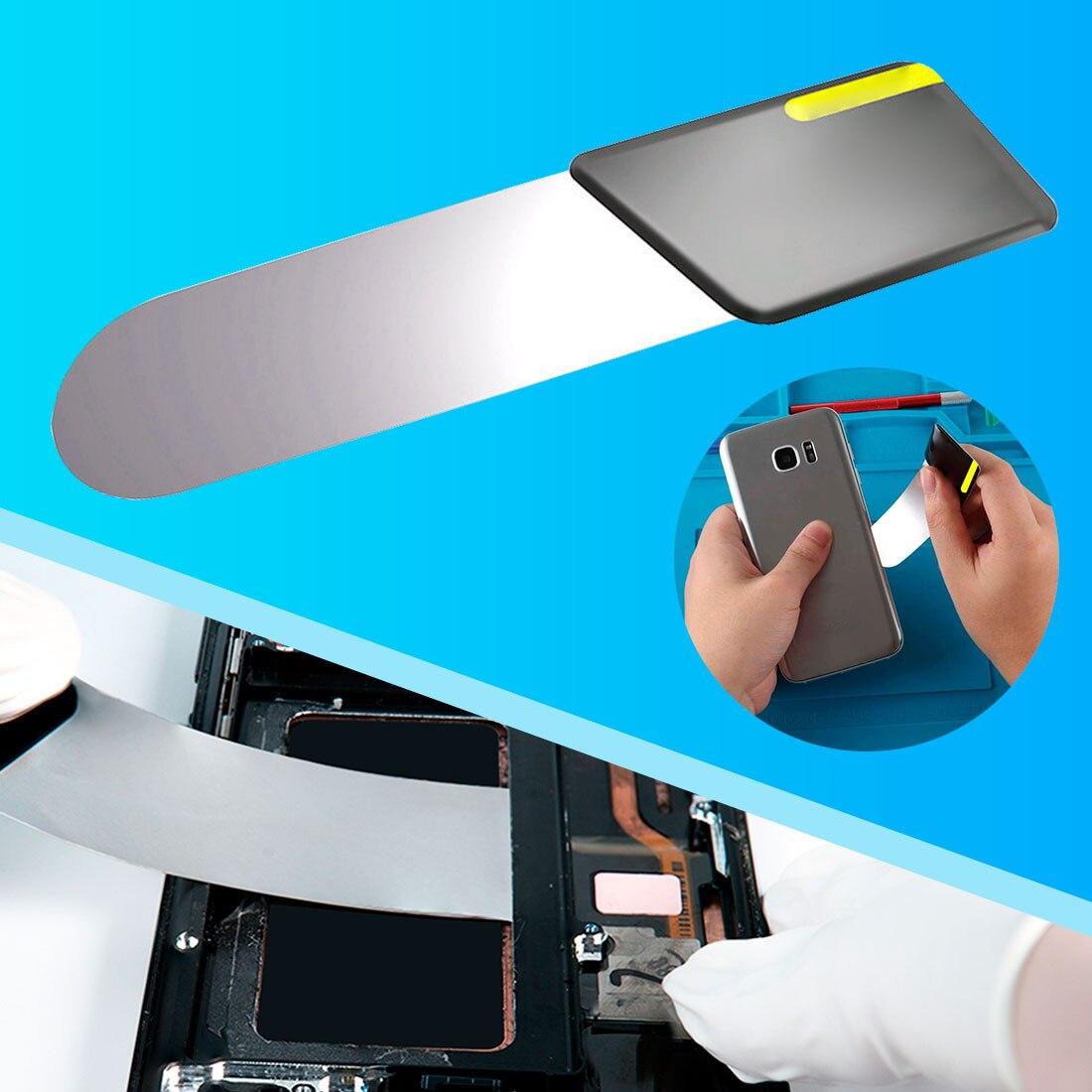 Мобильный телефон изогнутые ЖК-дисплей Экран инструменты для разборки карты ультратонкий, Гибкий Мобильный телефон разбирать металлическ...