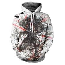 2020 3D printed Hoodie men's Cartoon characters  Hoodie brand men's jacket high quality Pullover fashion sports Hoodie Street