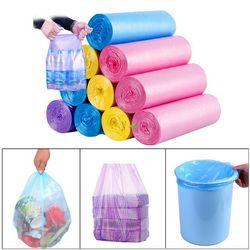 5 rolo pequeno saco de lixo sacos de lixo durável plástico descartável cozinha em casa