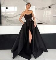 arabic cheap mermaid prom dresses long elegant evening formal dress 2020 cheap evening dresses abendkleider high slit