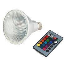 ICOCO Par30 10W/13W 7 Color LED Bulb RGB+W Led Lamp 85-265V Dimmable Light Lamp Led RF Remote Control Bulbs Waterproof Sale