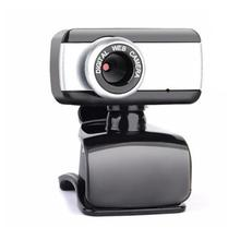 New Webcam USB High Definition Camera Web Cam 360 Degree MIC Clip-Digital Camcorde On For Skype Desk