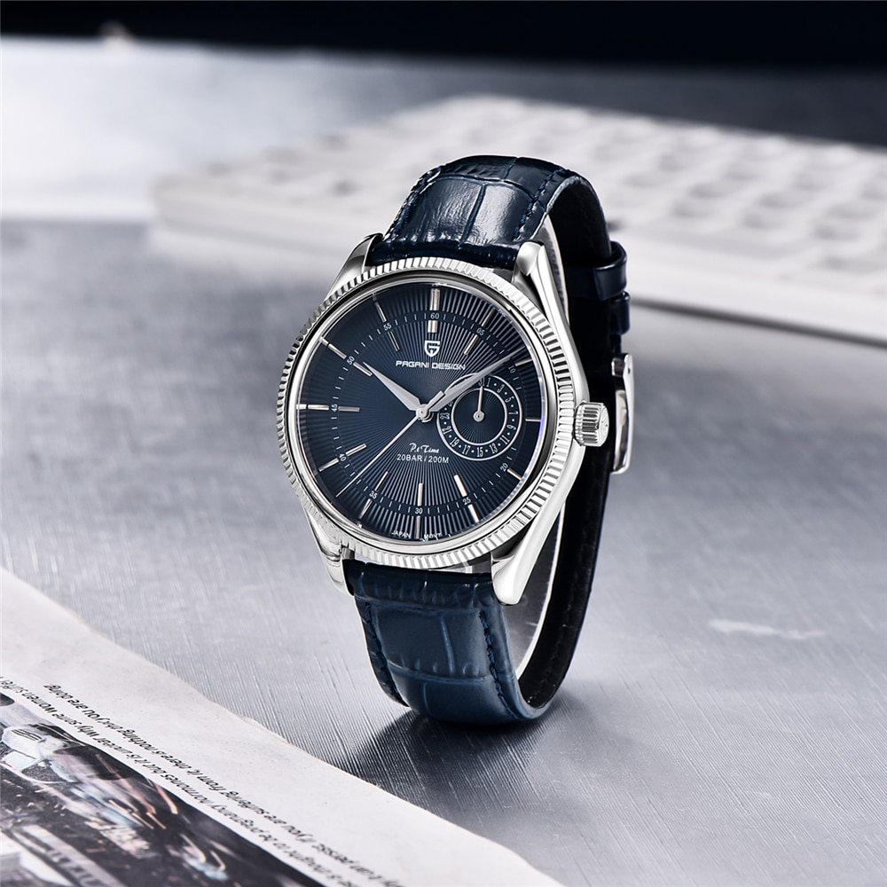 2021 New PAGANI Design Top Brand Men's Quartz Watch Sapphire VH65 Automatic Watch 200m Waterproof Men Diving Watch Reloj Hombre enlarge