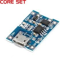 10/5 pièces 5V 1A Micro USB 18650 batterie au Lithium chargeur chargeur contrôleur Module + Protection double fonctions
