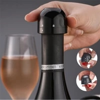 vacuum red wine bottle cap stopper silicone sealer wine stopper fresh wine keeper champagne cork stopper kitchen bar tools