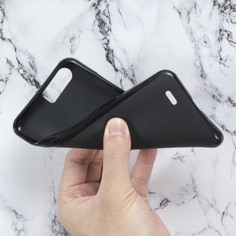 "Blackview P6000 Soft Case TPU Matte Pudim Capa Preta Anti-Poeira Telefon Ultra Proteção Telefone Capa Para Blackview P 6000 5.5"""