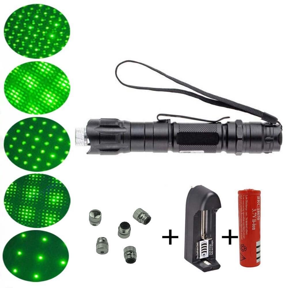 532nm 10000M high-power green laser pointer, adjustable focus starlight green laser sight, ultra-long radiation distance laser