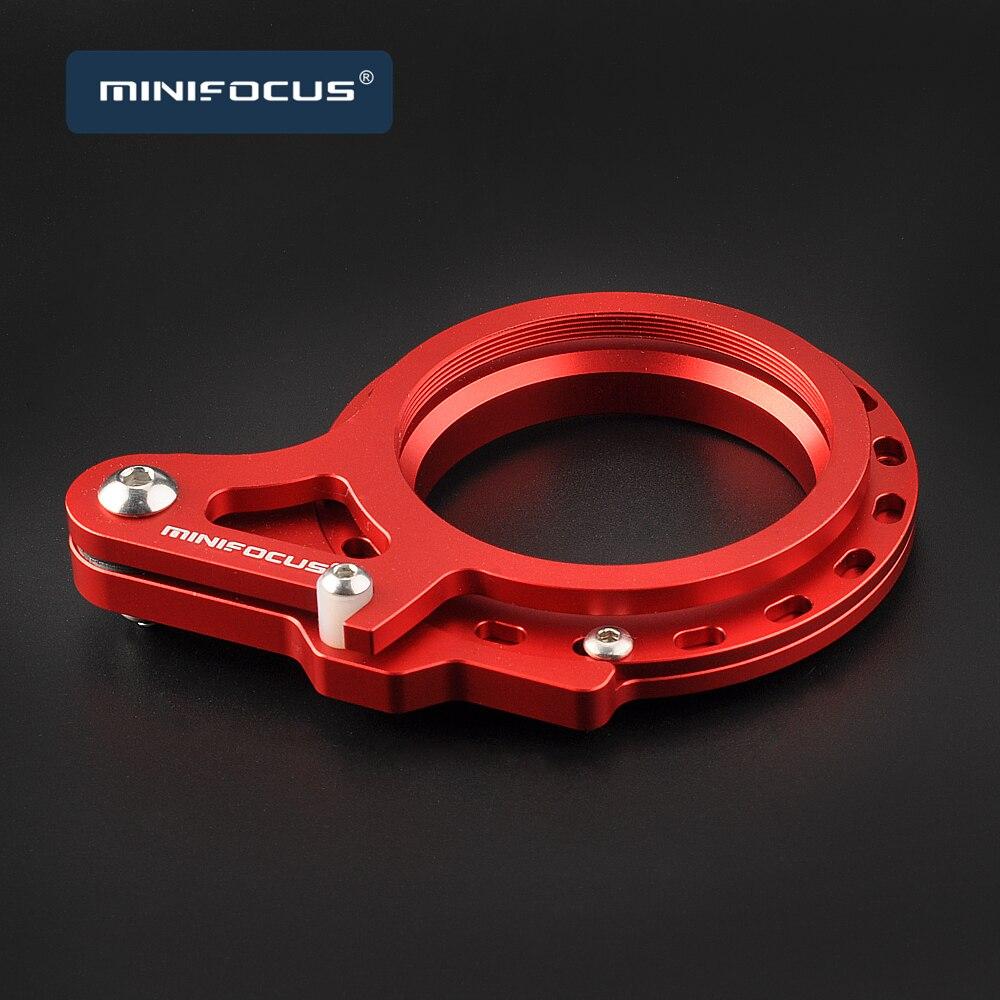 Adaptador flip de 52mm a 52mm, lente molhada, lente macro, lente corretiva grande angular, filtros para 52mm rosca submarino M52-52