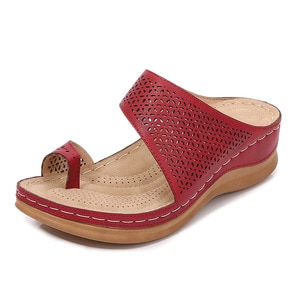 women sandals shoes on the heel sexy summer Woman Shoes Roman flat heel Women's sandals