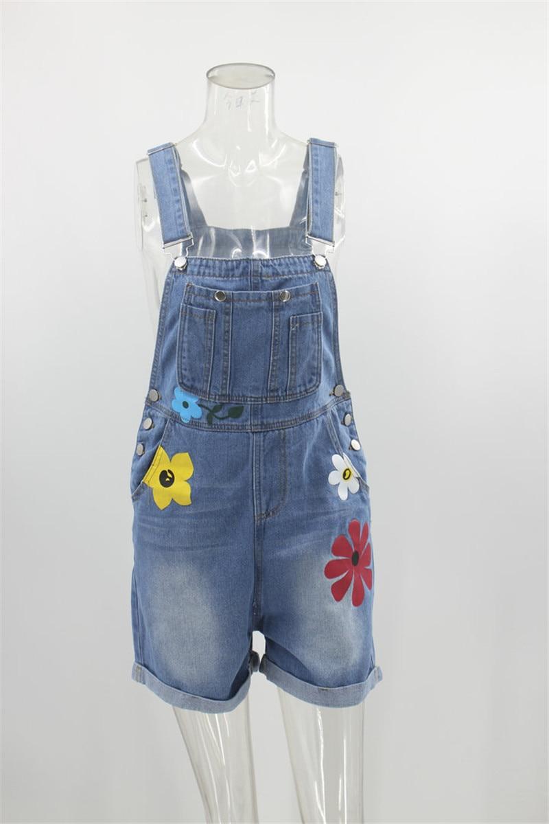 Denim Maternity Shorts Clothes 2020 Summer Pregnant Women Jeans Overalls Jumpsuit Strap Pant Trouser Pregnancy Rompers Clothings enlarge