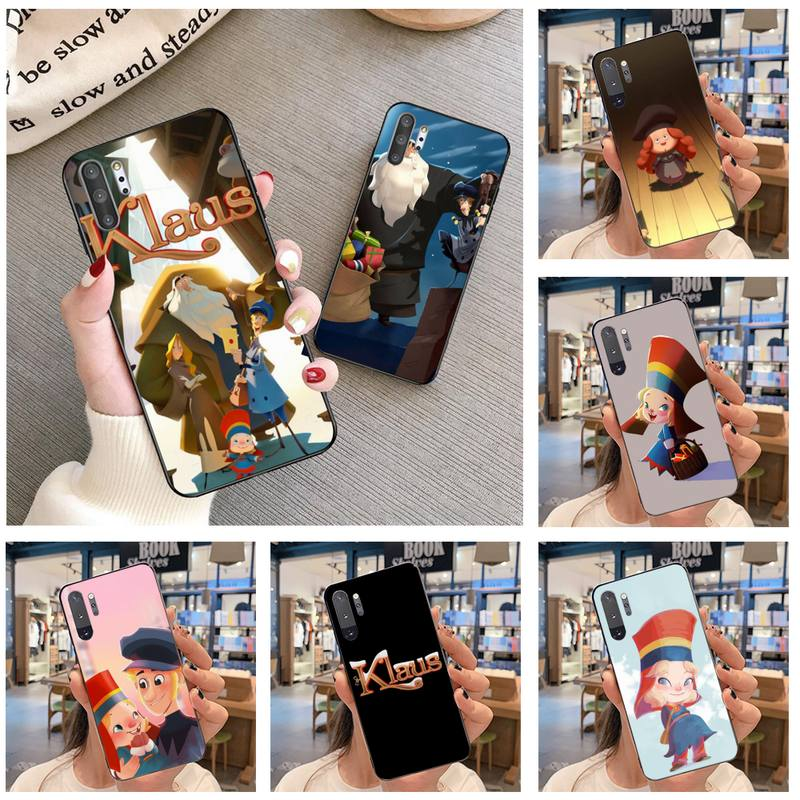 O Klaus HPCHCJHM filme Macio Telefone Caso Capa Para O Samsung Nota 7 8 9 10 Plus Galaxy lite J7 J8 J6 Plus 2018 Prime