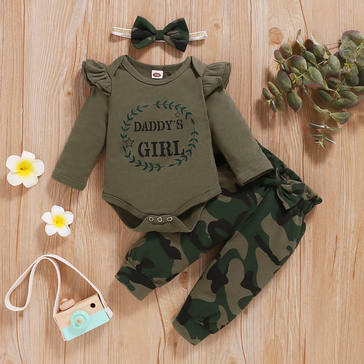 fall winter long sleeves pants cotton set grey stripes rufflepumpkin print pant baby kids wear girls clothing with accessory bow Fall Baby Clothes For Girls  12 Month Baby Girl Clothes Long Sleeve Letters Print Comfy Camflage Pants Headband Kids Outfits Set