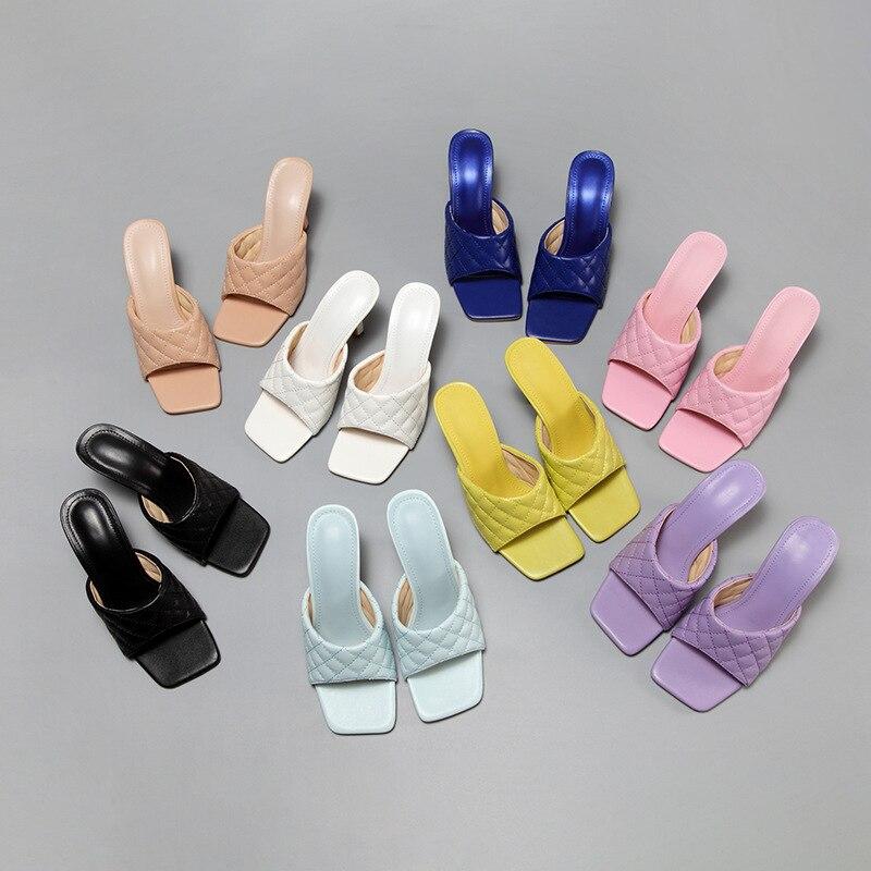 2020 Women Shoes Woman Sandals Ladies Sandals Women Pumps High Heels Sandalias New Summer Shoes Classic Sandals Ladies Slippers chunky heel sandals punk shoes sandals high heels platform sandals women summer shoes sandalias romanas women s sandals yma160