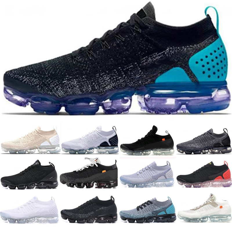Quality Fashion 2020 Newest Vapors mens Triple White Black Grey trainers Sports designers Sneakers R