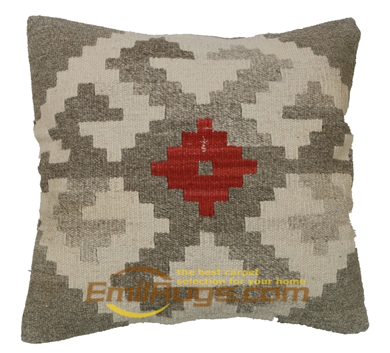 Fundas de cojín decorativas hechas a mano Kilim Tribal tejidas a mano sofá fino sofá silla Decoración