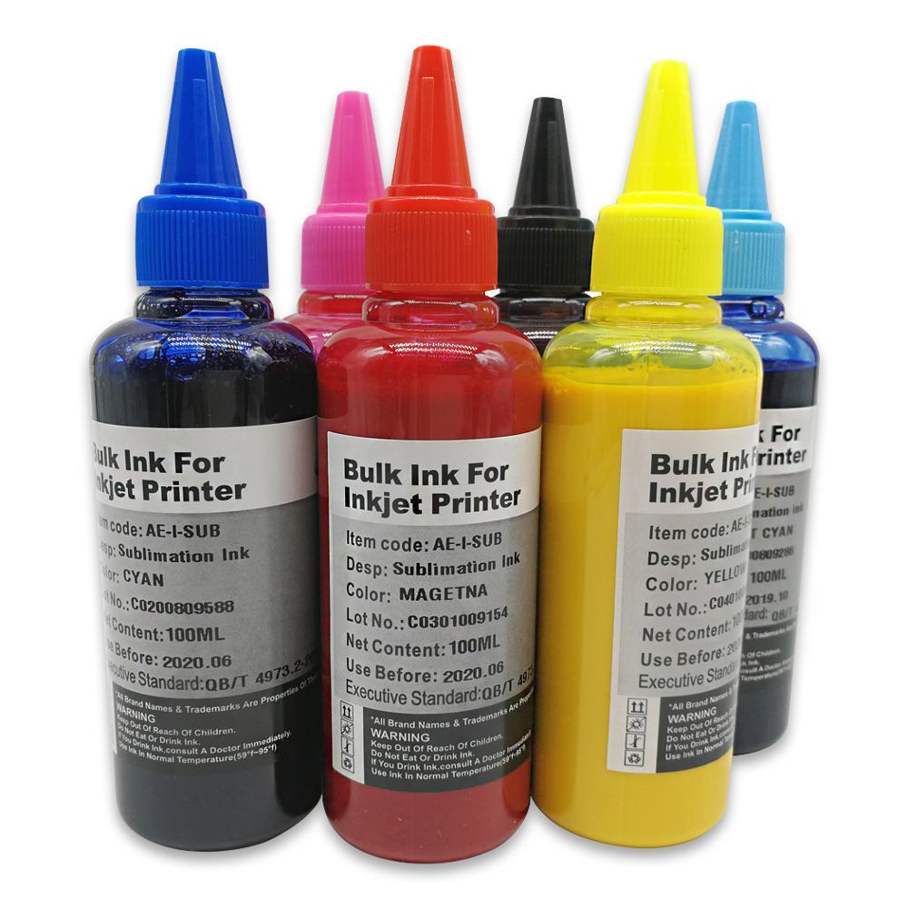 T0781 tinta de sublimación para EPSON R260 R280 R380 RX500 RX580 RX595 RX680 Artisan 50 impresora funda de teléfono camiseta tinta