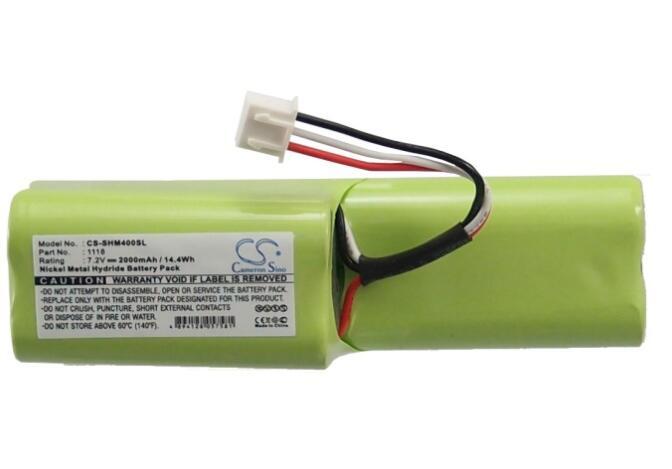 Batería de 2000mah para la batería Digital de samem Sagemcom HM40 1118 DAB