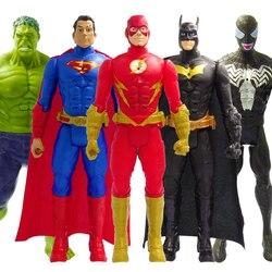 30cm marvel vingadores flash veneno spiderman thanos hulk homem de ferro thor wolverine figura de ação boneca brinquedos meninos crianças presentes de natal