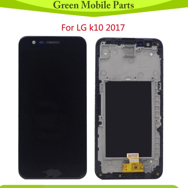 Prueba de LCD para LG K10 2017 LCD M250N X400 pantalla LCD con montaje de pantalla táctil para LG K20 Plus LCD M250 M250DS LCD