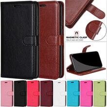 Leather Flip Wallet Case for LG K10 K8 K9 K11 K10+ Plus 2018 Case Cover Luxury Mobile Phone Bags Mag