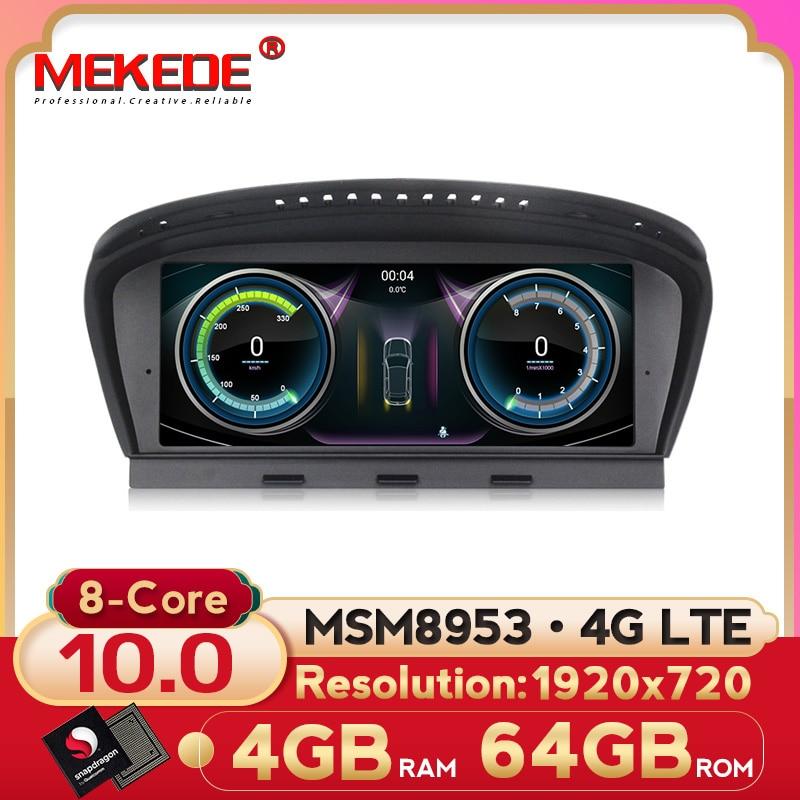 Neue! 1920X72 0 android 10 auto multimedia player für bmw 5 series E60 E61 E63 E64 E90 E91 E92 CCC CIC MASKE mit 4G LTE wifi carplay