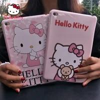 hello kitty apple tablet pc ipad case is suitable for ipadmini2 ipad3456air2pro20182017 ipad case